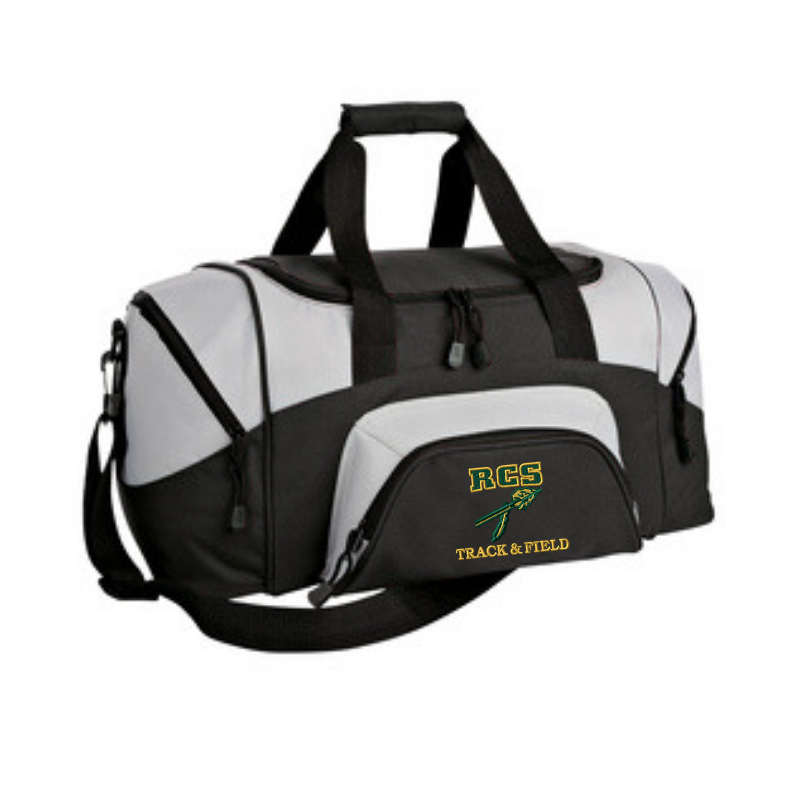 RCS Track & Field Small Two-Tone Duffel Bag- 2 Colors
