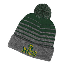Load image into Gallery viewer, RCS Football Pom Pom Beanie- 5 Styles
