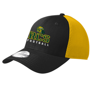 RCS Football Fitted Stretch Mesh Back Hat- 4 Colors