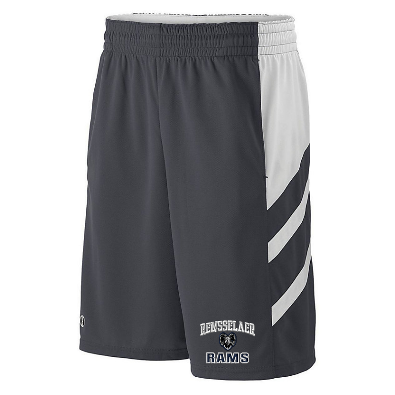 Rensselaer Rams Shorts- Youth & Adult, 2 Colors