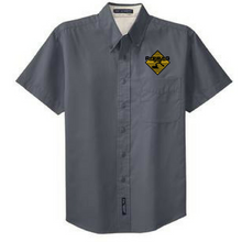 Load image into Gallery viewer, Rifenburg Companies Short Sleeve Button Down Shirt- Men's, 4 Colors