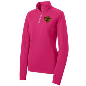 Rifenburg Companies 1/4 Zip Textured Pullover- Ladies, 4 Colors