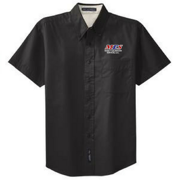 Rifenburg Companies Short Sleeve Button Down Shirt- Men's, 4 Colors