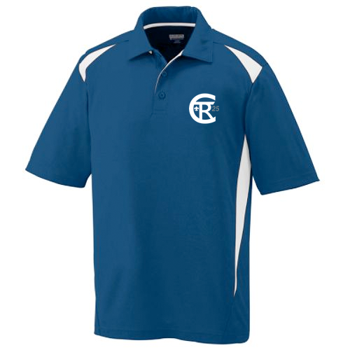 Twin Rivers Council Moisture Wicking Polo with logo embroidered
