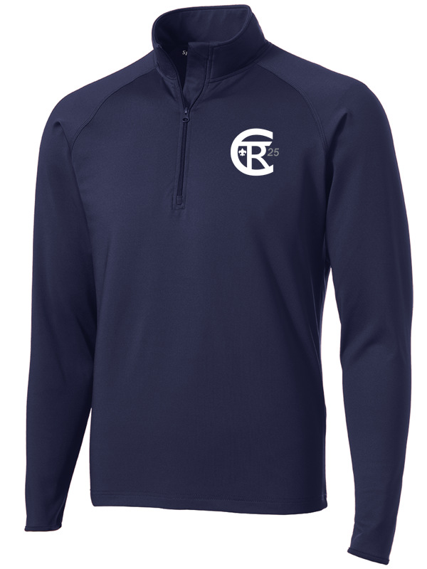 Twin Rivers Council Moisture Wicking 1/2 Zip Pullover with logo embroidered
