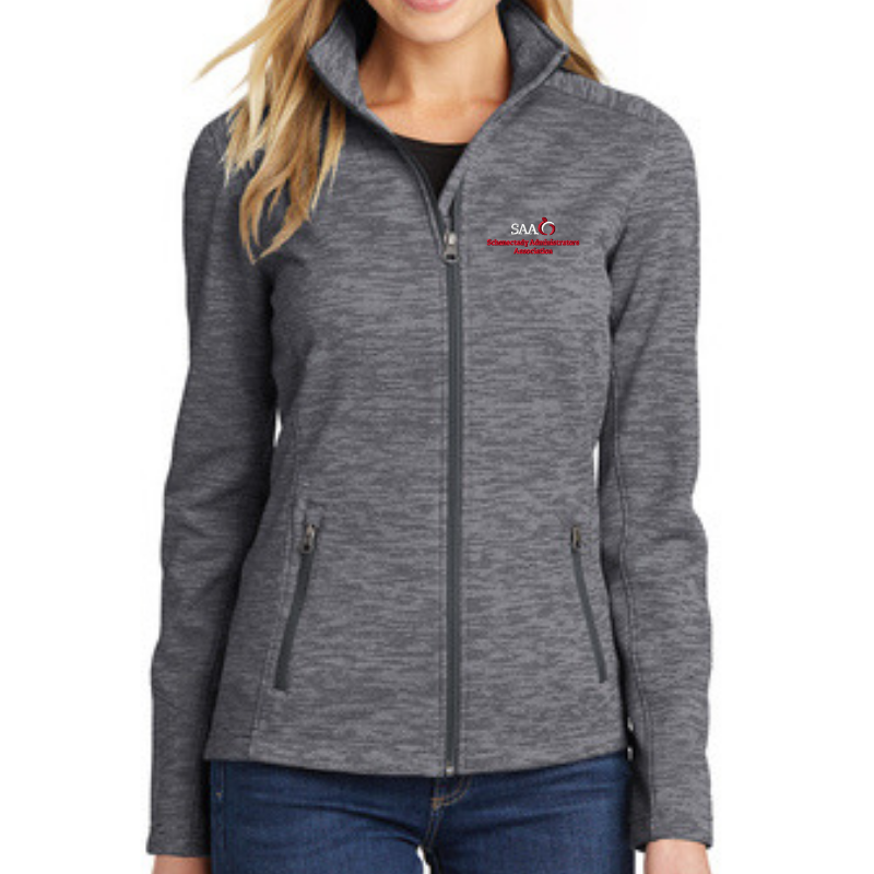SAA Digi Stripe Fleece Jacket- Ladies & Men's, 3 Colors