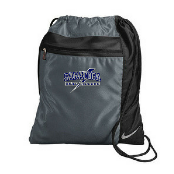 76e83bb1bef3 Saratoga Nike Drawstring Bag- 4 Colors – Val s Sporting Goods