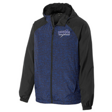 Load image into Gallery viewer, Saratoga Heathered Hooded Wind Jacket- Ladies & Men's, 3 Colors