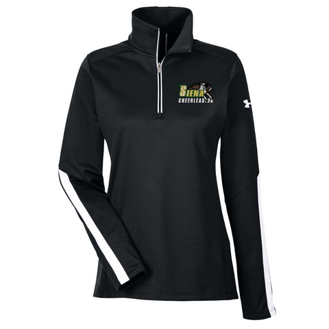 Siena Cheer Ladies Under Armour 1/4 Zip- 2 Colors, 2 Logos