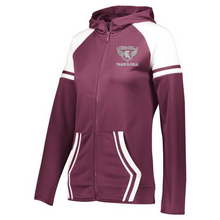 Load image into Gallery viewer, BHBL Track & Field Retro Full Zip Performance Jacket- Youth, Ladies & Men's, 2 Colors