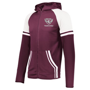 BHBL Track & Field Retro Full Zip Performance Jacket- Youth, Ladies & Men's, 2 Colors