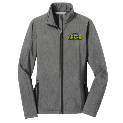 Siena Cheer Ladies Soft Shell Jacket- 3 Colors, 2 Logos