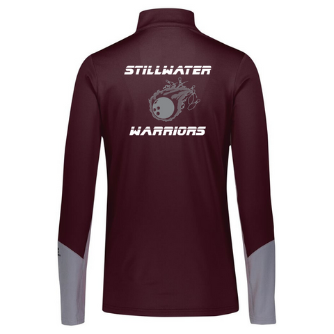Stillwater Bowling Colorblock Lightweight 1/4 Zip- Ladies & Men's, 2 Colors