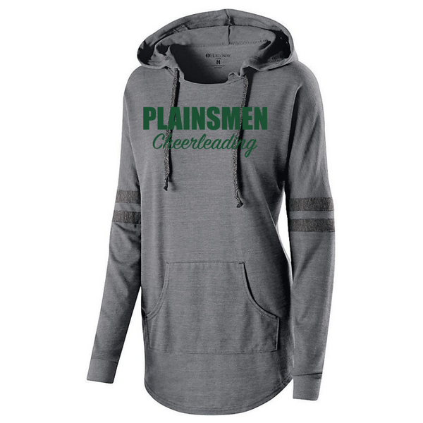 Shen Cheerleading Ladies Hooded Pullover- 2 Colors, 2 Logos