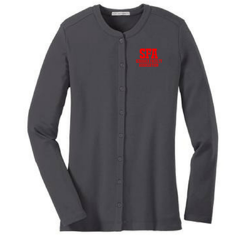 SFA Ladies Button Down Sweater- 3 Colors