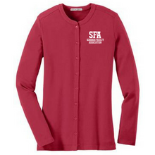 Load image into Gallery viewer, SFA Ladies Button Down Sweater- 3 Colors