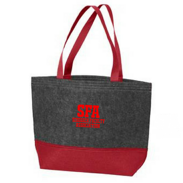SFA Felt Tote Bag- 3 Colors