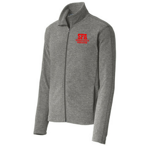 SFA Heathered Full Zip Fleece- Ladies & Men's, 3 Colors