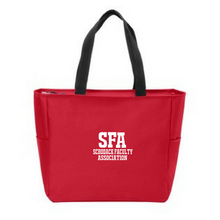 Load image into Gallery viewer, SFA Zipper-Top Tote Bag- 3 Colors