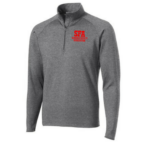 SFA 1/4 Zip Performance Pullover- Ladies & Men's, 3 Colors