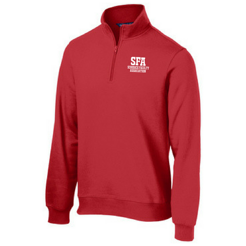 SFA 1/4 Zip Sweatshirt- Ladies & Men's, 3 Colors