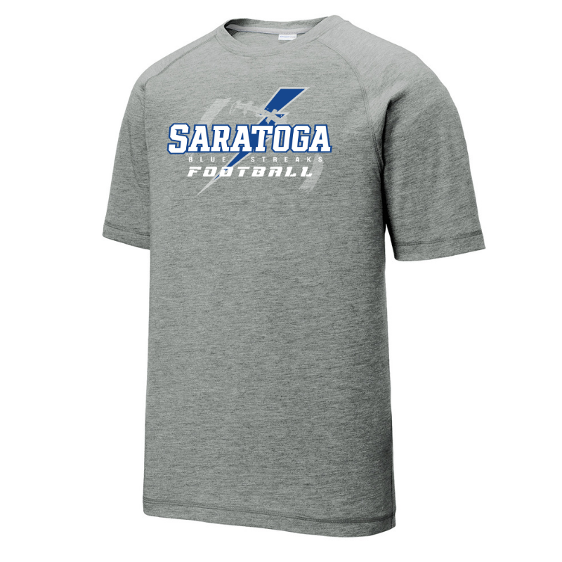 Saratoga Football Tri-Blend Performance Tee- Youth, Ladies & Men's, 3 Colors