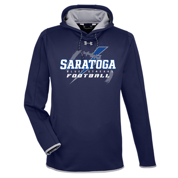 Saratoga Football Under Armour Performance Hoodie- Ladies & Men's, 3 Colors