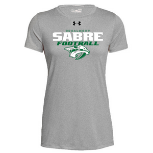Schalmont Football Under Armour Short Sleeve Performance Shirt- Ladies & Men's, 2 Colors