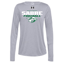 Load image into Gallery viewer, Schalmont Football Under Armour Long Sleeve Performance Tee- Ladies & Men's, 2 Colors