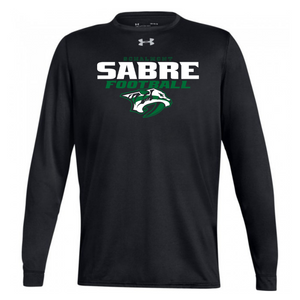 Schalmont Football Under Armour Long Sleeve Performance Tee- Ladies & Men's, 2 Colors