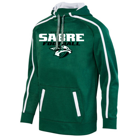 Schalmont Football Two-Tone Performance Hoodie- Youth, Ladies & Men's, 3 Colors