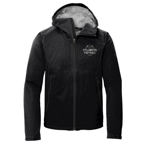 Stillwater Football North Face DryVent All-Weather Full Zip Jacket- Ladies & Men's, 2 Colors
