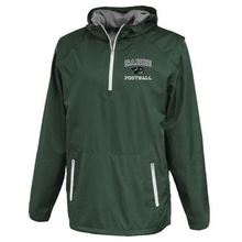 Load image into Gallery viewer, Schalmont Football Hooded 1/4 Zip Windbreaker- 2 Colors