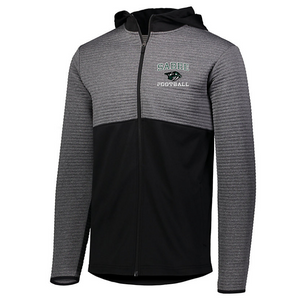 Schalmont Football Textured Full Zip Performance Jacket- 3 Colors