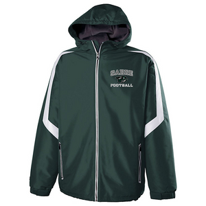 Schalmont Football Hooded Full Zip Jacket- Youth & Adult, 2 Colors
