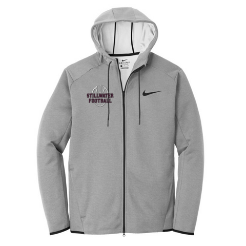 Stillwater Football Nike Full-Zip Performance Hoodie- 2 Colors