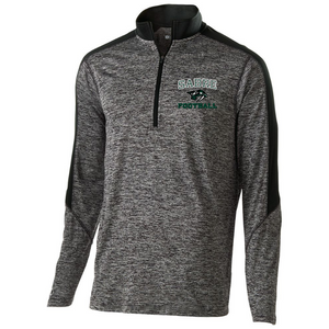 Schalmont Football Heather Lightweight 1/4 Zip Pullover- Youth, Ladies, & Men's, 3 Colors