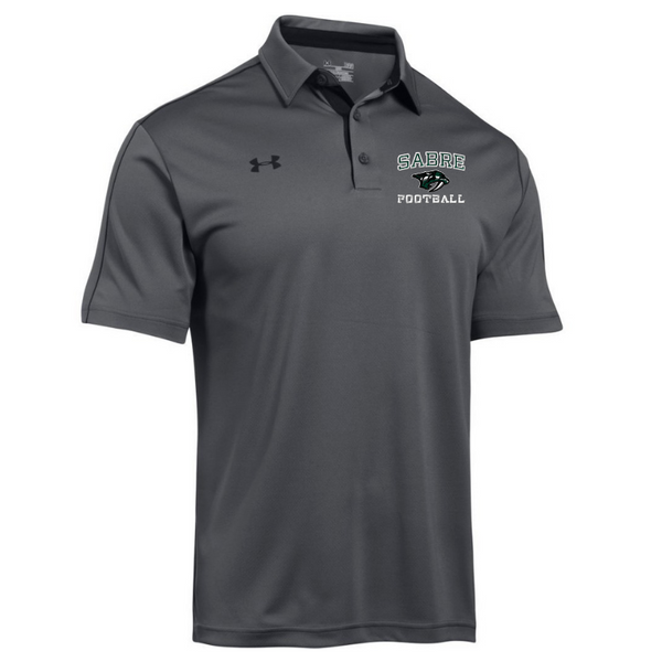Schalmont Football Under Armour Two-Tone Performance Polo- 2 Colors