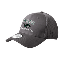 Load image into Gallery viewer, Schalmont Football Fitted Stretch Mesh Back Hat- 3 Colors
