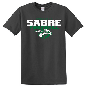 Schalmont Football Cotton Tee- Youth & Adult, 4 Colors