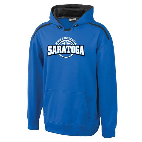 Saratoga Girls Basketball Performance Hoodie- Youth & Adult, 3 Colors