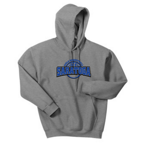Saratoga Girls Basketball Hoodie- Youth & Adult, 4 Colors