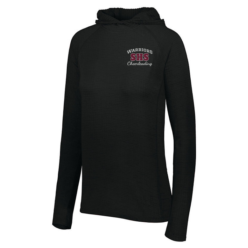 Stillwater Cheerleading Textured Hooded Pullover- 2 Colors