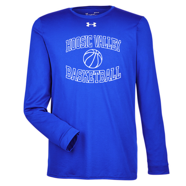 HV Basketball Under Armour Long Sleeve Performance Tee- Ladies & Men's, 2 Colors