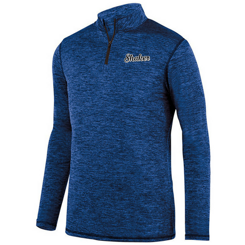 Shaker Heather Light-weight 1/4 Zip Pullover- Youth, Ladies & Men's, 2 Colors