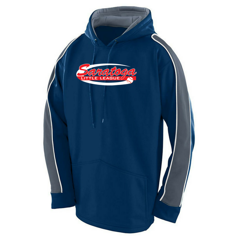 Saratoga Little League Colorblock Performance Hoodie- Youth & Adult