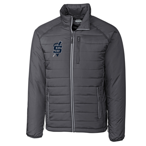 Saratoga Lacrosse Puffy Full Zip Jacket- Ladies & Men's