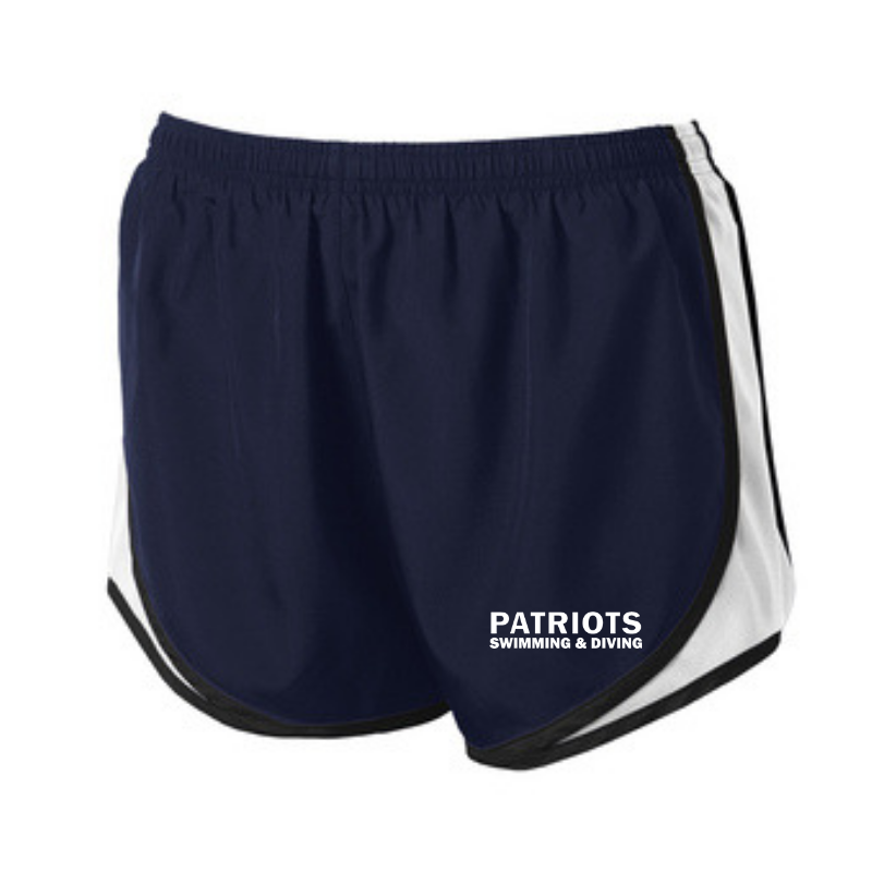 Schenectady Swimming & Diving Ladies Shorts