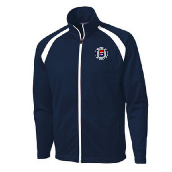 Schenectady Swimming & Diving Two-Tone Warm Up Jacket- Youth, Ladies, & Men's