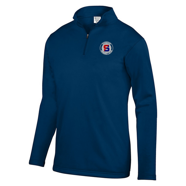 Schenectady Swimming & Diving 1/4 Zip Performance Pullover- Youth, Ladies & Men's